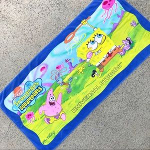 SpongeBob SquarePants Universal Studios Towel